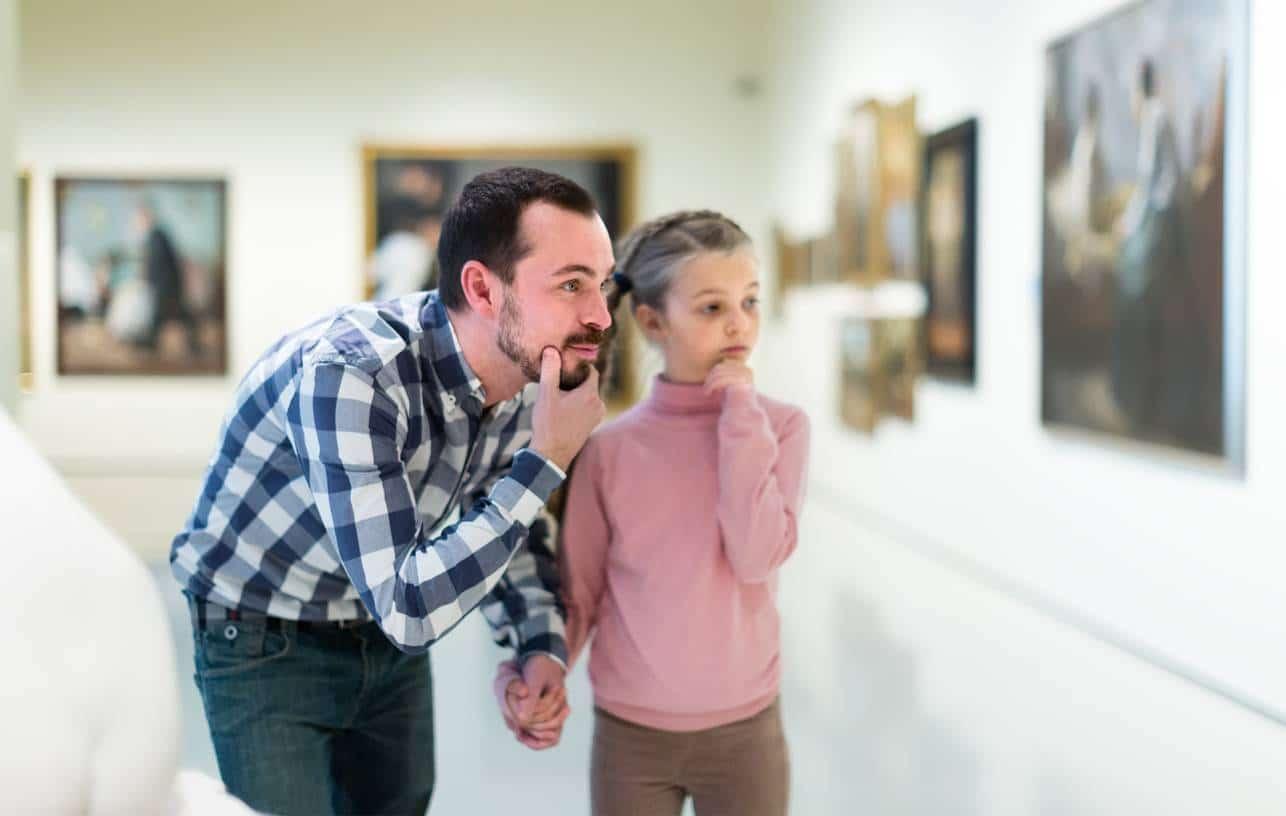 L'art contemporain et les enfants
