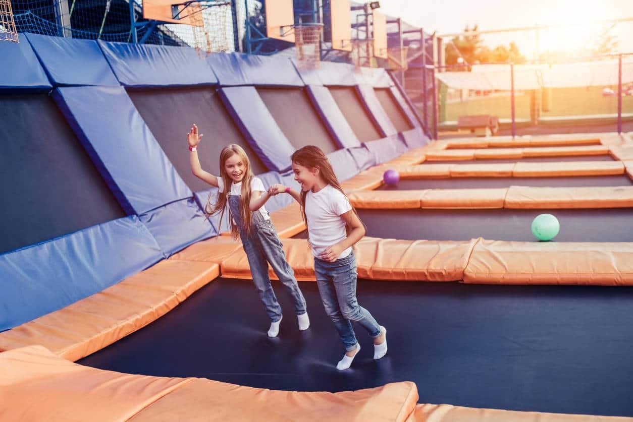 anniversaire au trampoline park