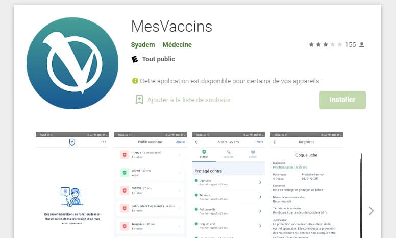 MesVaccins